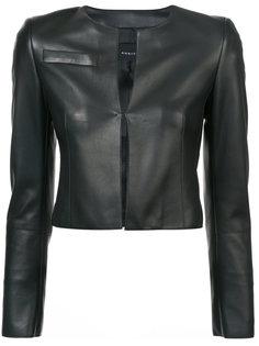 укороченная приталенная куртка Akris