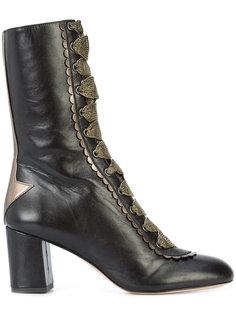 сапоги на шнуровке Camilla Elphick