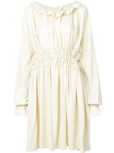 платье с присборенной талией  Mm6 Maison Margiela