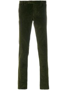 брюки в рубчик Incotex