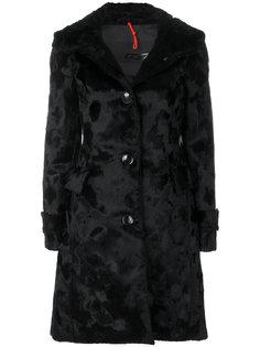 однобортное фактурное пальто  Rrd