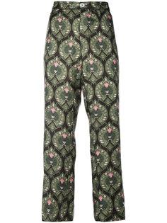 укороченные брюки с принтом  F.R.S For Restless Sleepers