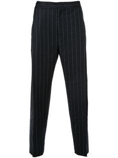 брюки в тонкую полоску Juun.J