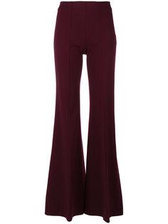расклешенные брюки с завышенной талией  Dondup