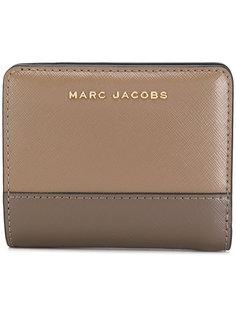 кошелек дизайна колор-блок Marc Jacobs