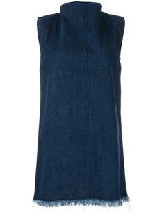 джинсовое короткое платье Marquesalmeida