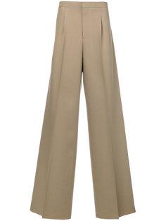 длинные широкие брюки Raf Simons