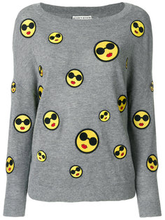 patch detail sweater Alice+Olivia