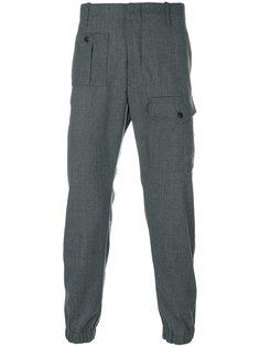 зауженные брюки с накладными карманами Dondup