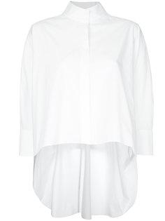 расклешенная блузка   Delpozo