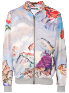 спортивная куртка на молнии Moschino