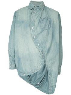 джинсовая рубашка Ball Anrealage