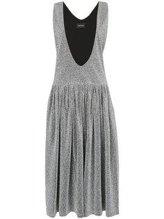 плиссированное платье миди  Elaidi