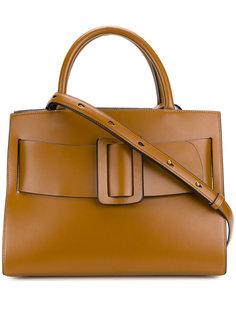 сумка-тоут с объемной пряжкой Boyy