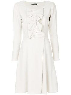 платье с рюшами и пуговицами спереди Twin-Set