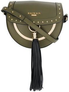 сумка на плечо с кисточками Balmain