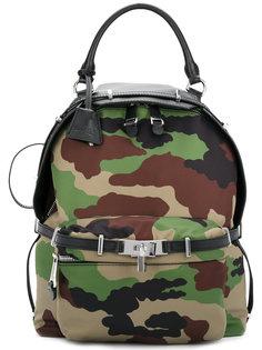 камуфляжный рюкзак Moschino
