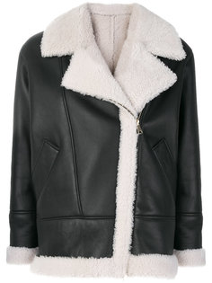 куртка с отделкой овчиной Blancha