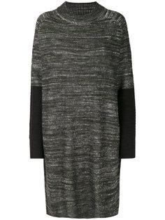 вязаное платье с контрастной отделкой  Y-3
