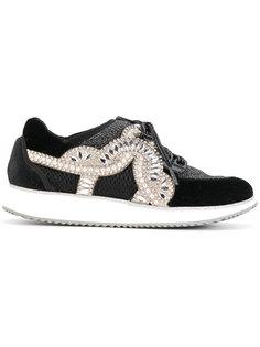 декорированные кроссовки Sophia Webster