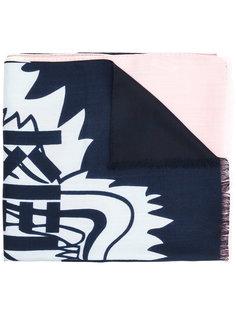 шарф Tiger с принтом Kenzo