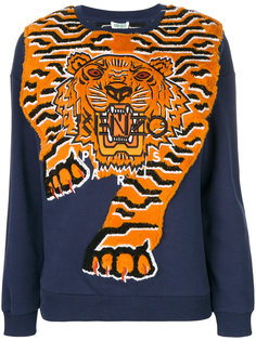 джемпер с тигром  Kenzo