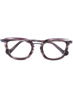 очки в квадратной оправе Moncler Eyewear