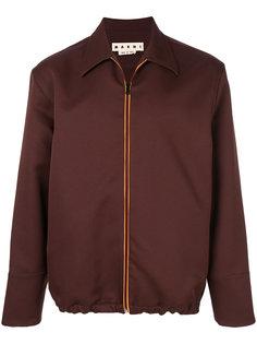 куртка рубашечного типа на молнии Marni