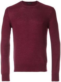 кашемировый свитер с круглым вырезом Prada