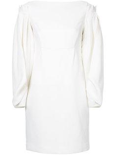 платье с плиссированными рукавами Osman