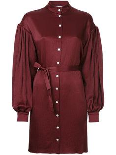 платье-рубашка с завязкой на талии Osman