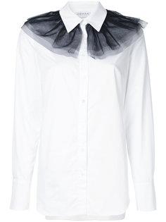 рубашка с деталью из тюля Osman