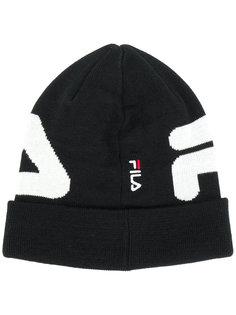 трикотажная шапка с логотипом Fila