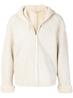 куртка с отделкой из овчины Yeezy