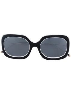 массивные солнцезащитные очки Matsuda