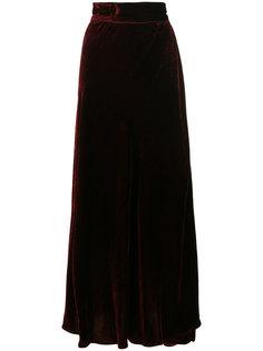 длинная бархатная юбка  Wandering