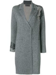 однобортное пальто D.Exterior