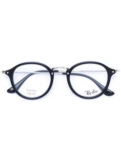 очки в оправе округлой формы Ray-Ban