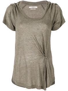 футболка с отделкой кольцами  Isabel Marant Étoile