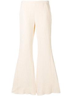 фактурные расклешенные брюки Rosetta Getty