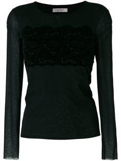 блузка с прозрачными рукавами D.Exterior