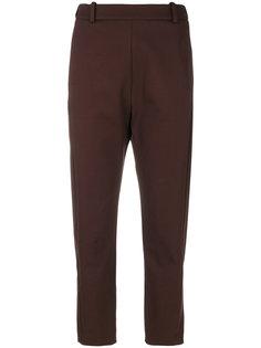 укороченные зауженные брюки Ilaria Nistri