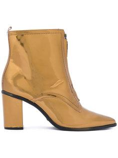 ботинки с металлическим отблеском Schutz