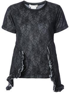 frill panel T-shirt Comme Des Garçons