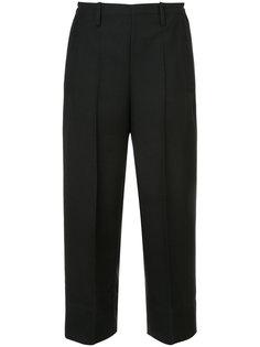 классические укороченные широкие брюки Lemaire