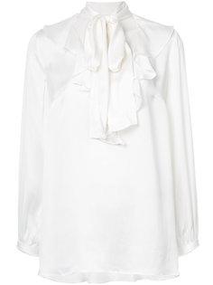 блузка с отделкой в виде шарфа Zimmermann