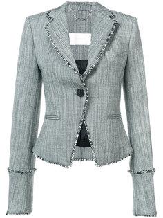 raw edge fitted blazer Zimmermann
