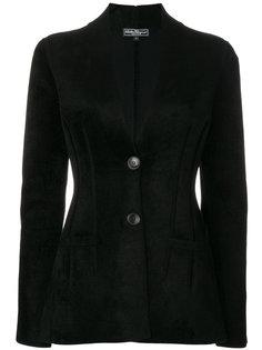 приталенная однобортная куртка Salvatore Ferragamo