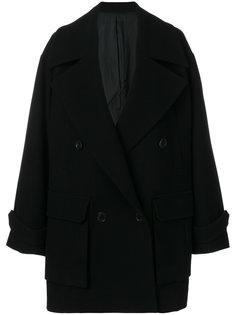 свободное двубортное пальто  Juun.J