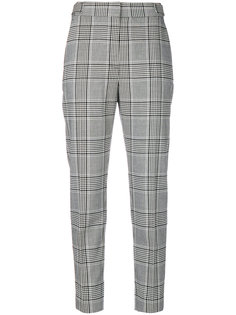 брюки с клетку Alexander Wang